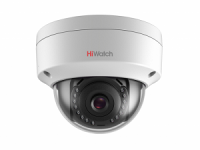 DS-I102 (2.8 mm) 1Мп купольная универсальная IP-камера со встроенной ИК-подсветкой до 30м HiWatch