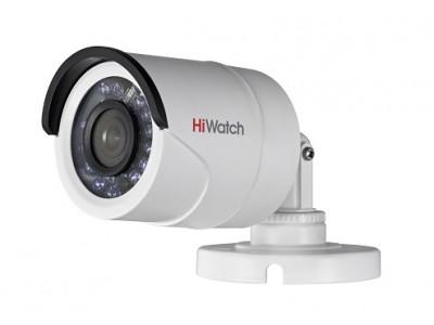 DS-T200P (2.8 mm) 2Мп уличная цилиндрическая HD-TVI камера с ИК-подсветкой до 20м HiWatch