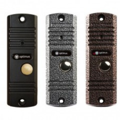 Панель видеодомофона Optimus DS-420(сереб./медь/че..