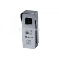 Панель видеодомофона Optimus DS-720W (сереб.)..