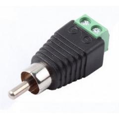 SR-RCA-PV NEW Разъем штекер RCA с клеммной колодко..