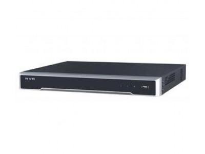 DS-7616NI-K2/16P 16-ти канальный IP-видеорегистратор с PoE Hikvision